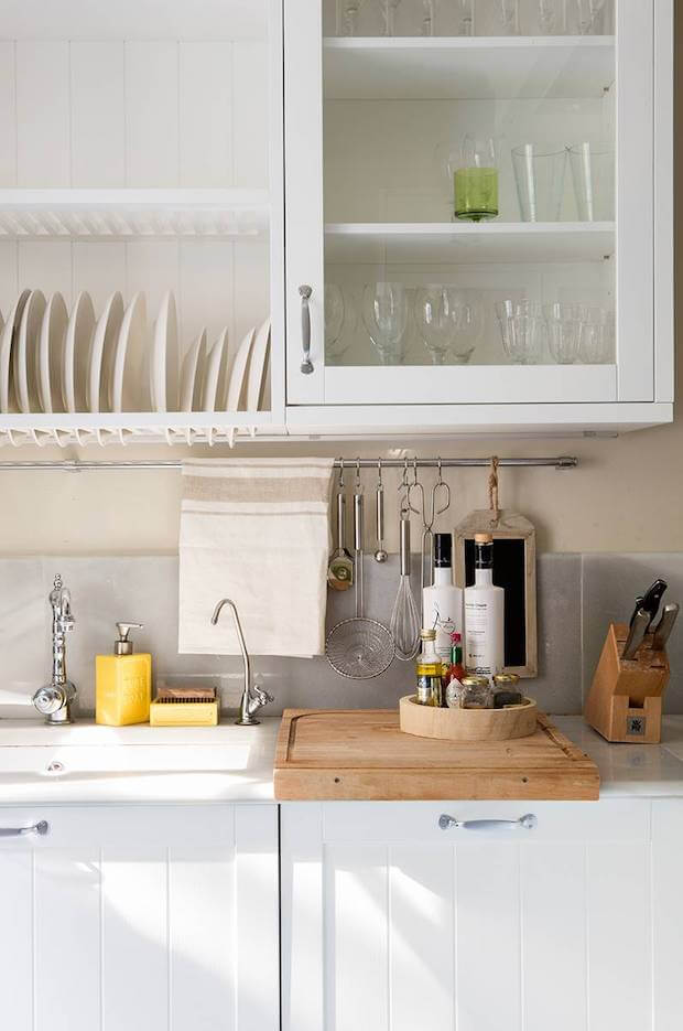 Como aprovechar cocinas pequeñas