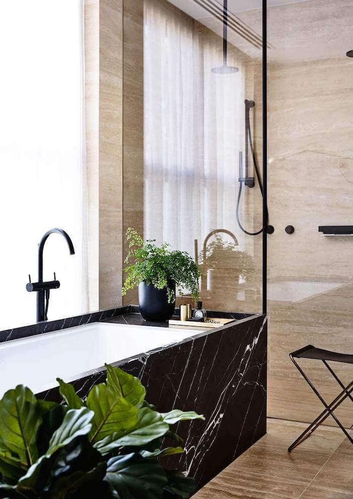 Tendencias 2019 decoracion hogar marmol negro