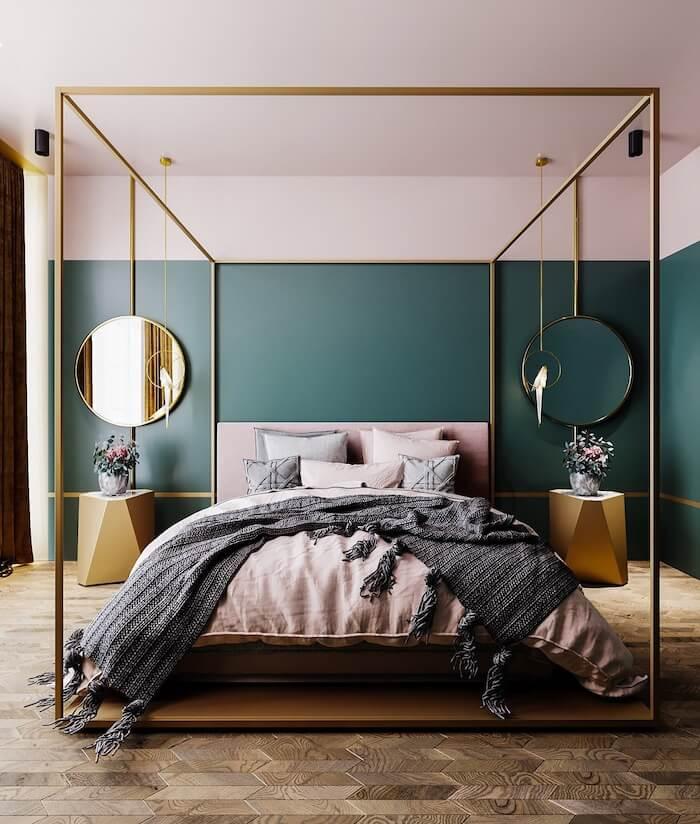 Tendencias de decoracion 2019 dormitorios camas con dosel
