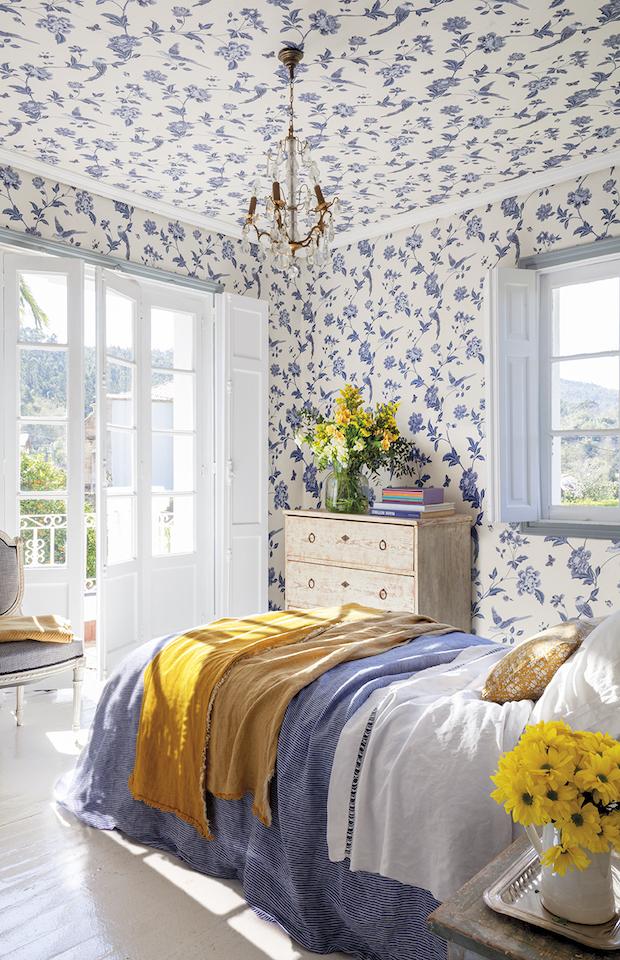 Cmabiar look de tu casa en primavera empapelando