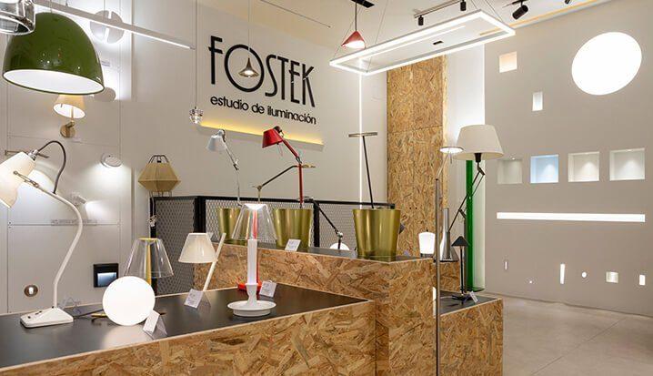 Proyecto de interiorismo Estudio de Iliminación Fostek Dimensi-on 0