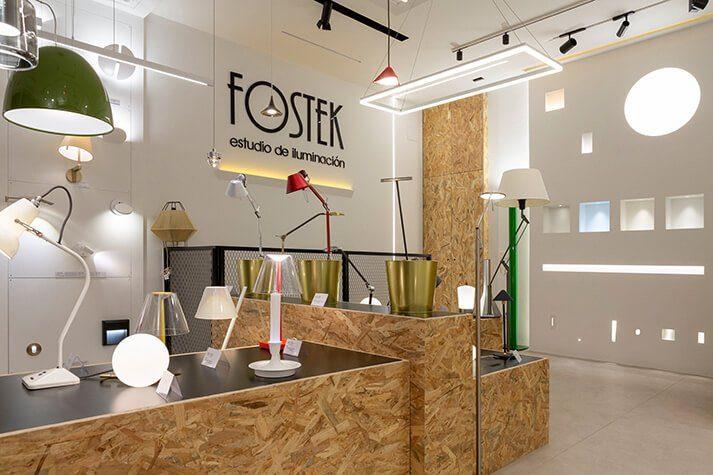 Proyecto de interiorismo Estudio de Iliminación Fostek Dimensi-on (1)