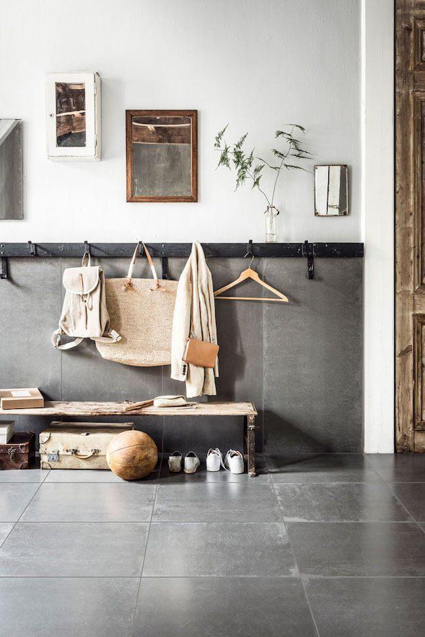 Estilos de recibidores para casas: industrial