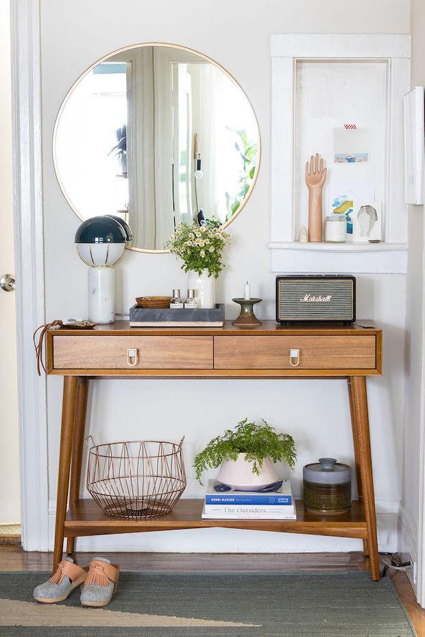 Estilos de recibidores para casas: vintage