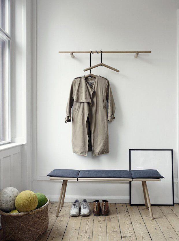 Estilos de recibidores para casas: minimalista