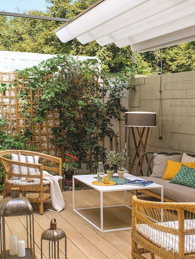 Cómo optimizar al máximo tu terraza: sombra