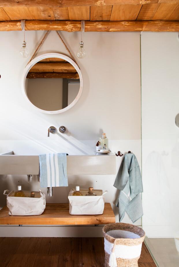Cambiar el baño: orden y almacenaje