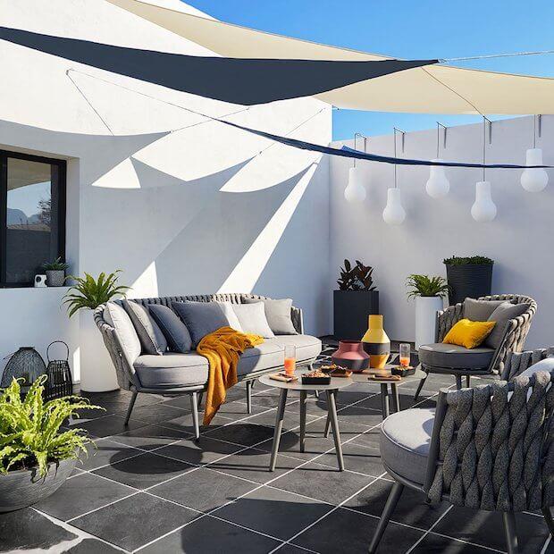 Cambiar el suelo de la terraza en pizarra