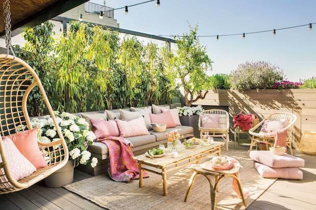 Ideas para cambiar el aspecto de la terraza: armarios invisibles