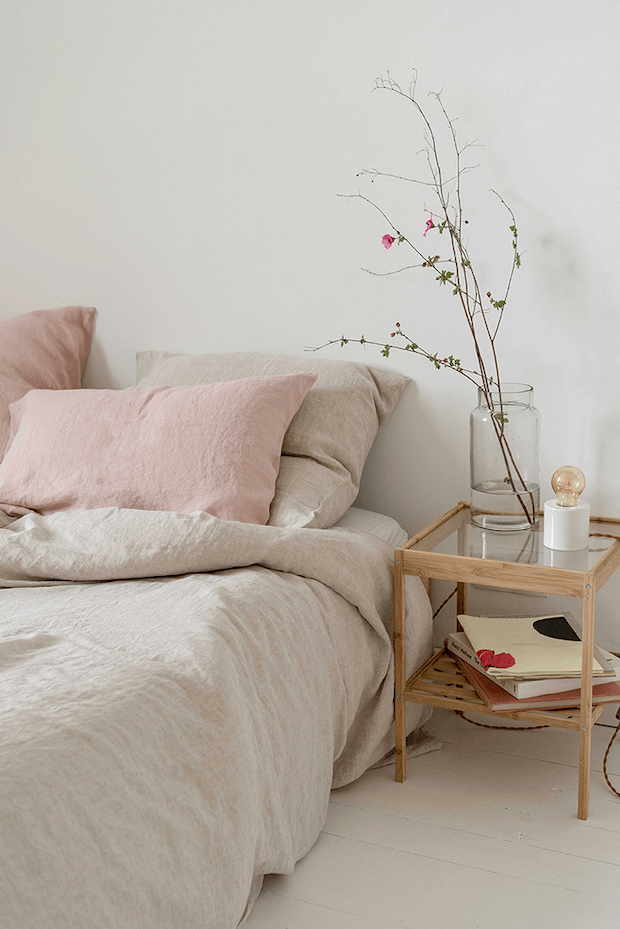 Textiles ligeros para una casa fresca en verano