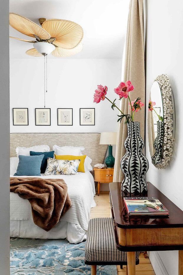 Instala un ventilador de techo para refrescar tu casa