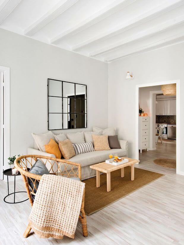 Cómo reformar casas pequeñas: suelo de madera