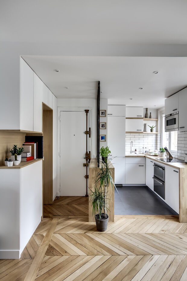 Muebles altos en la reforma de casas pequeñas
