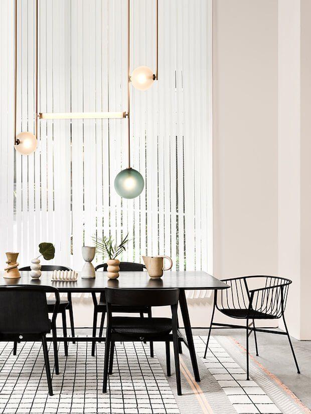 Tipos de cortinas de lamas verticales