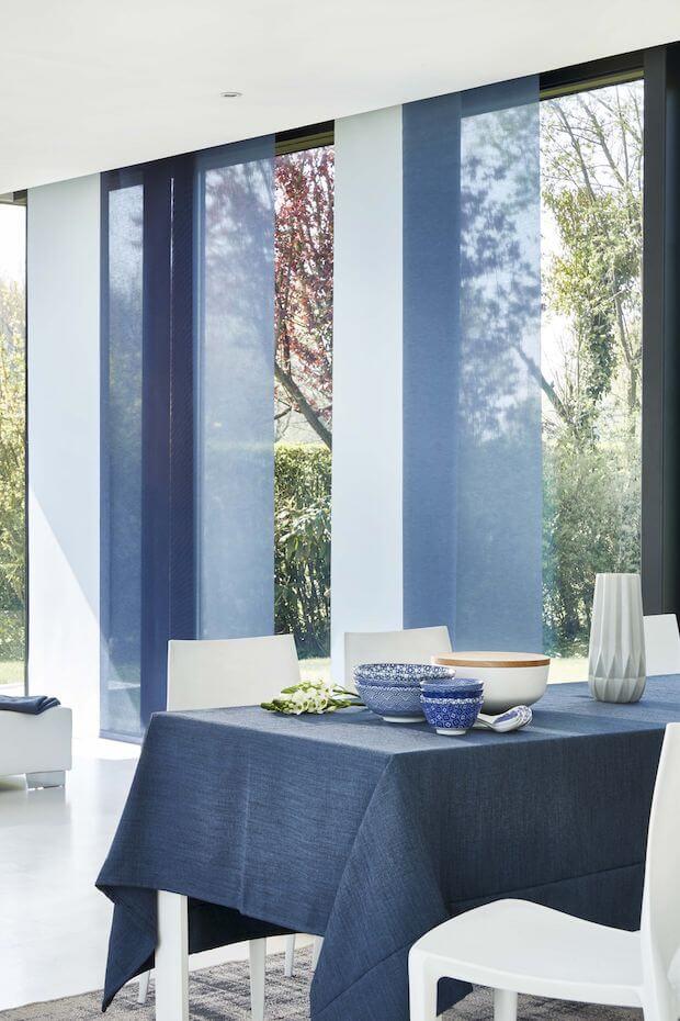 Tipos y clases de cortinas: paneles japoneses