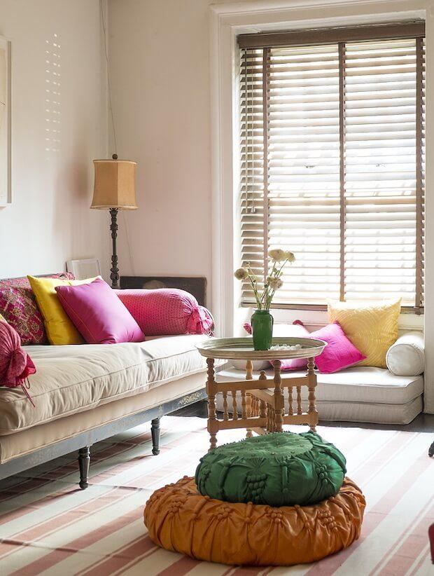 Tipos de cortinas venecianas en madera
