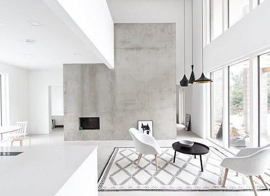 Cómo es una casa minimalista