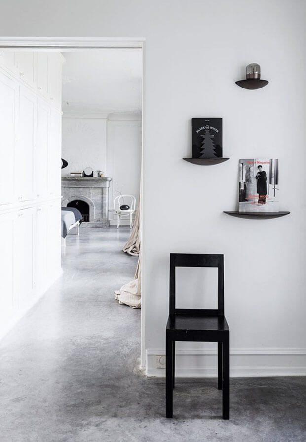 Cómo decorar tu casa en Navidad con blanco y negro