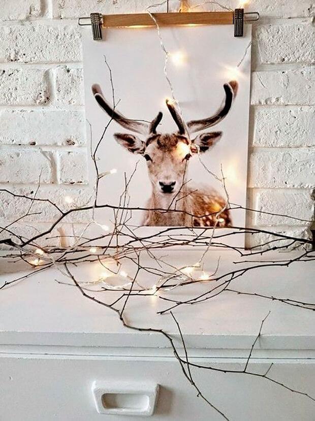 Láminas decorativas arty Navidad