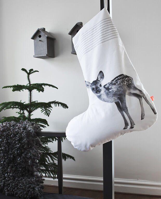 Tendencias deco Arty Navidad: calcetines