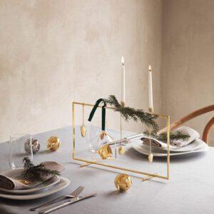 Obras arty decoración mesas de Navidad