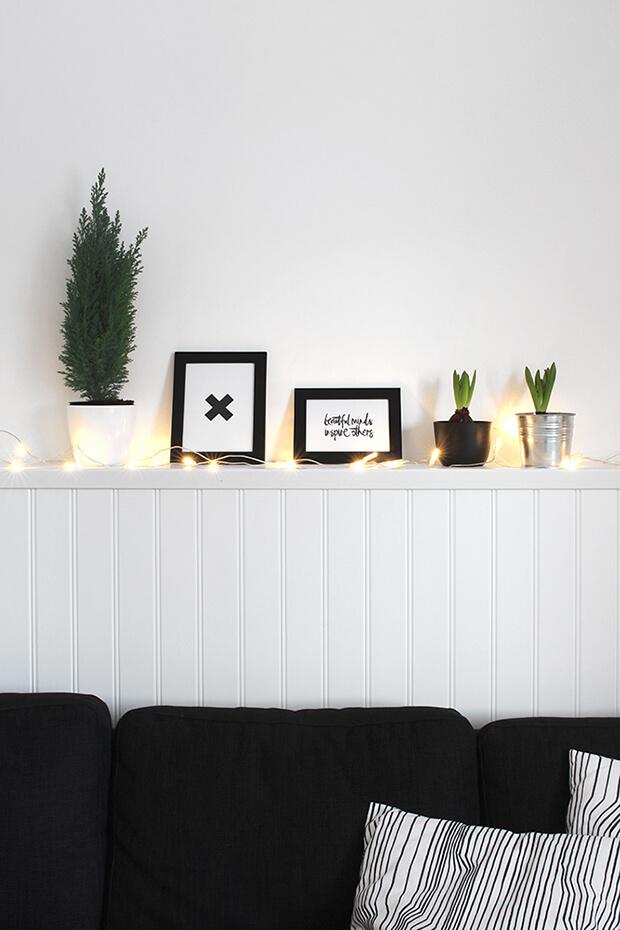 Luces de Navidad para inquilinos nómadas
