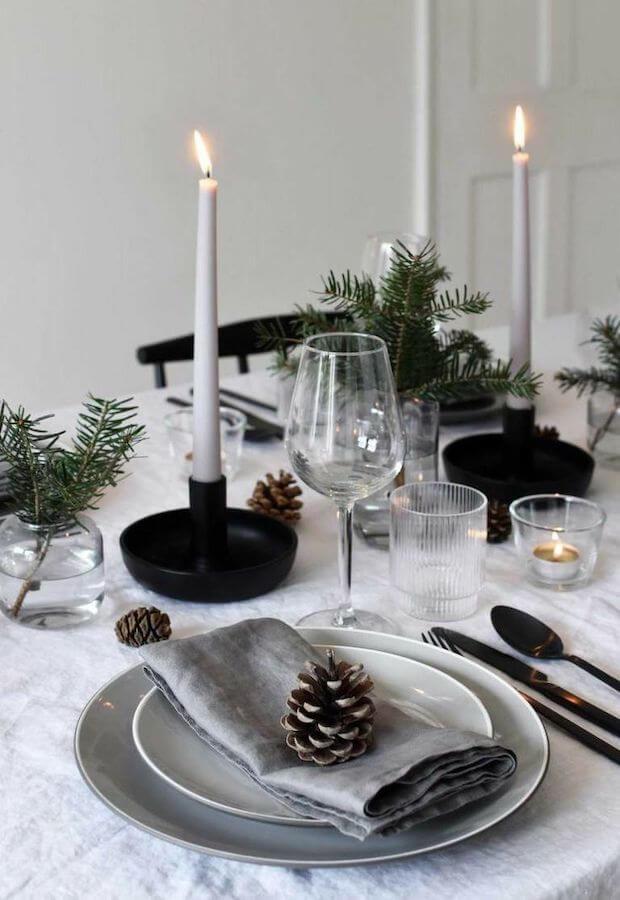 Tendencias decoración mesas de Navidad 2019
