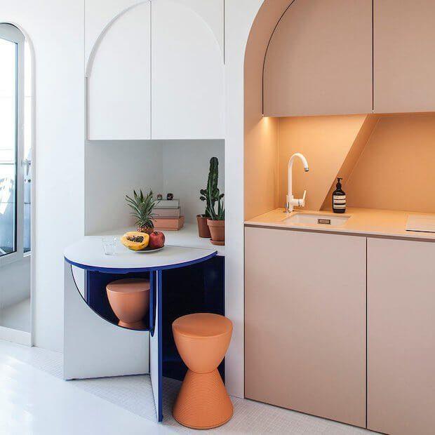 Muebles con doble funcionalidad en la decoración millennial