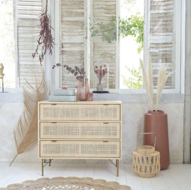 Muebles en mimbre; la fibra natural más versátil