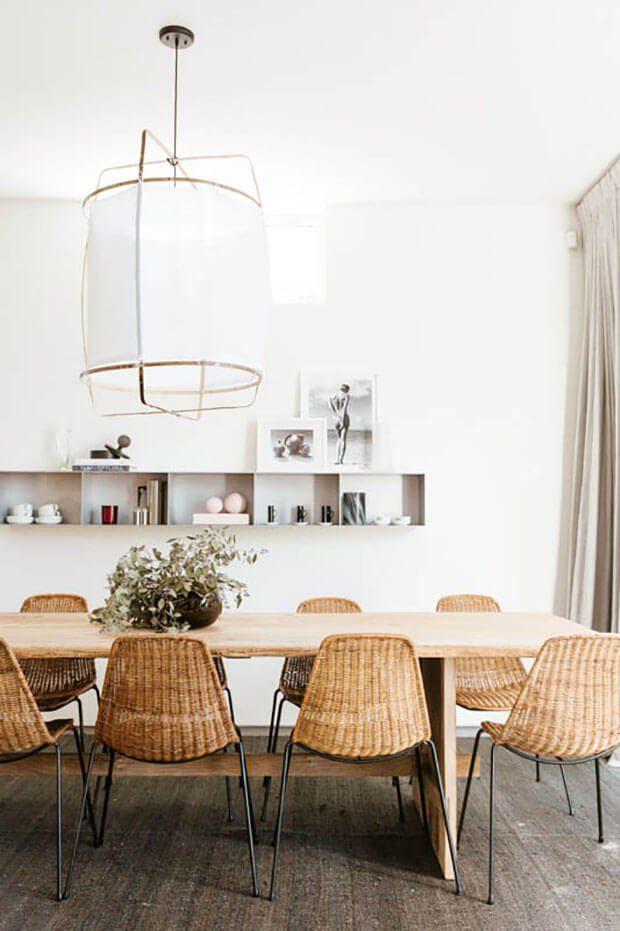 Muebles de interior en en fibras naturales de ratán