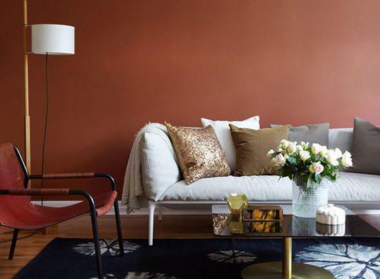 Cómo combinar en color caldera en la decoración del hogar