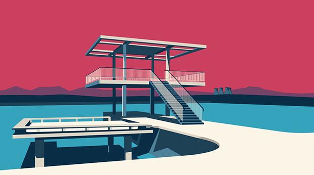 Nvard Yerkanian: Arquietctura e ilustración