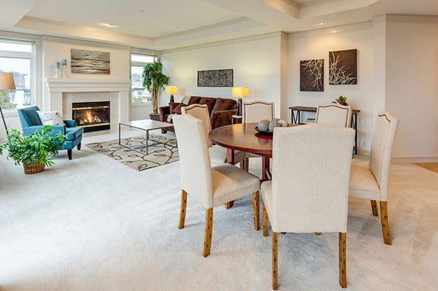 Muebles de estilo transicional