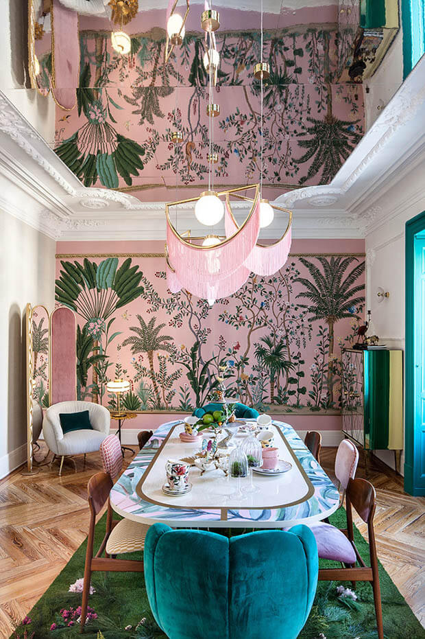 Floral prints tendencia decor verano 2020