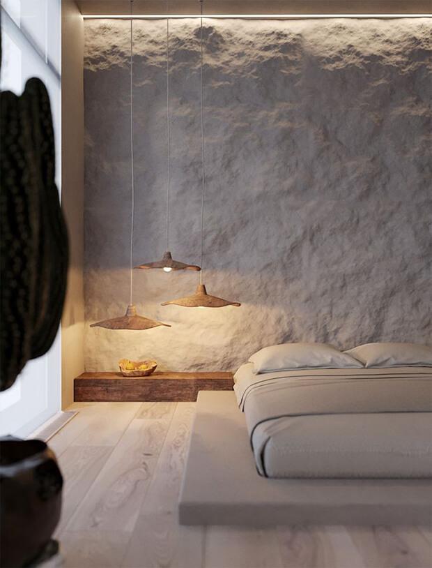Muebles en la decoración Wabi Sabi