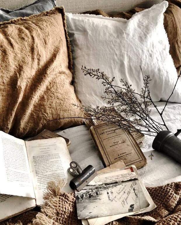 Los textiles naturales en la decoración Wabi Sabi