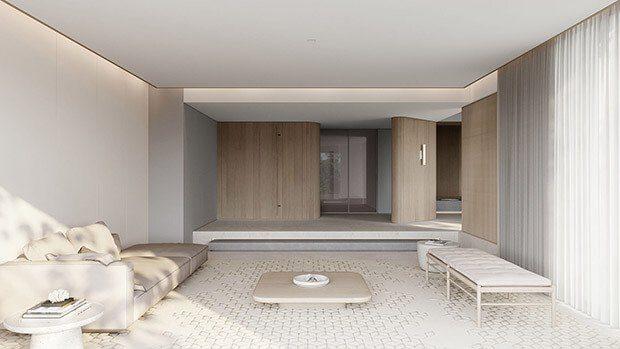 Puertas de interior modernas