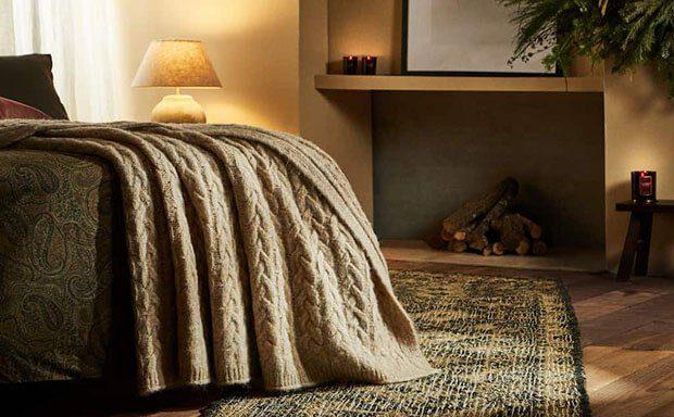 Textiles para mantener ti casa caliente en invierno
