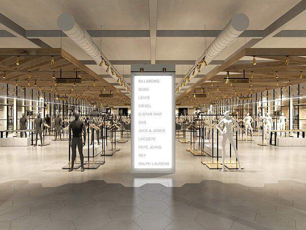 Información, pantallas, medias de seguridad, retail y coronavirus