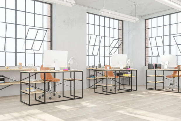 Nuevos materiales, diseño de oficinas y Covid-19